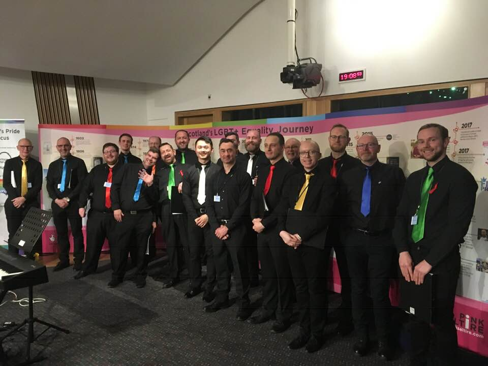 LGBT+ History Month at the Scottish Parliament